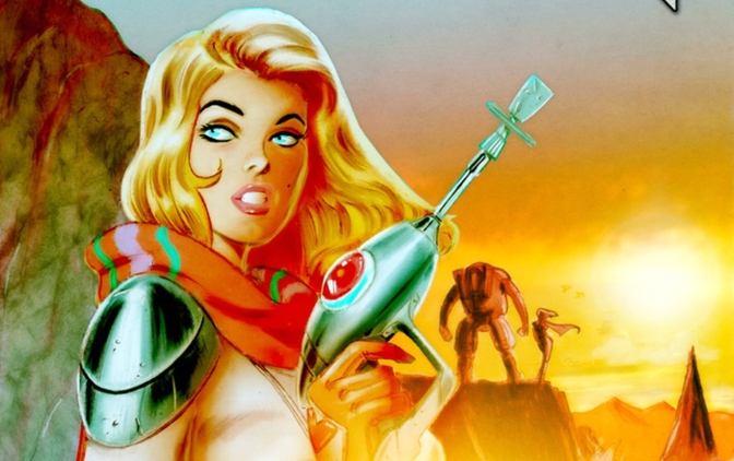"Kickstarter Project:  Sci-Fi/Fantasy Comic Book ""Mechknight Paladin"""